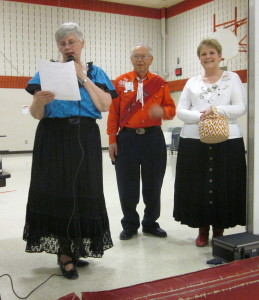 Vice President Marlys, King Willard, Queen Dar