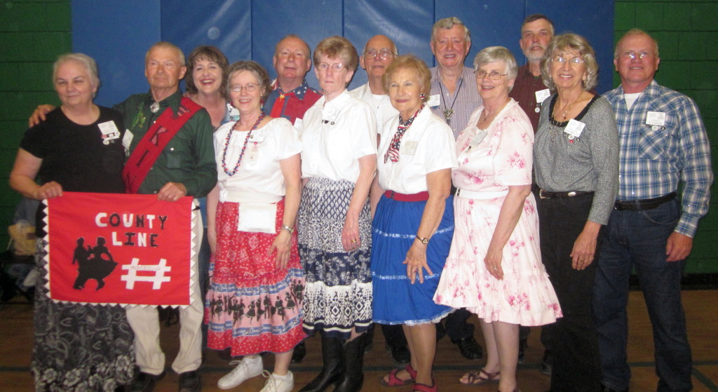Most of the County Line Dancers, Some are not Pictured.