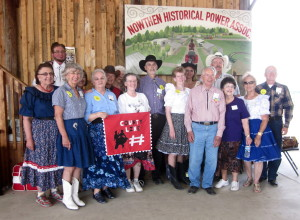 Most of the County Line Dancers.