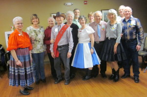 County Line Dancers  with Cuer Leora Murphy and Caller Dean Fishel!