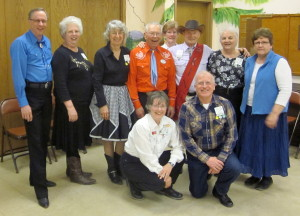 County Line Square Dancers with Caller Tom Allen and Sally!