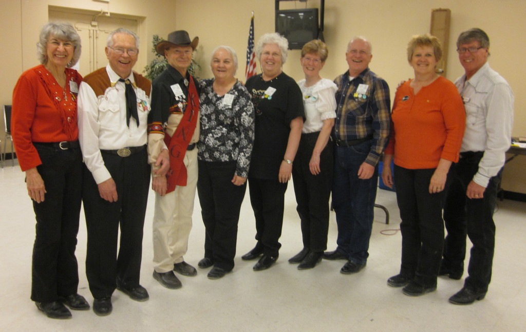 County Line Square Dancers with Caller Roger McNeil and Cuer Bernadette McNeil