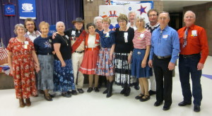 County Line Square Dancers with Caller Abe Maier and Carol