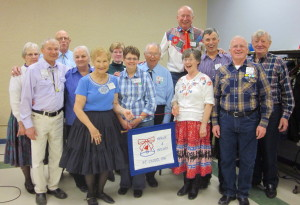 County Line Square Dancers with Caller Dick Severson and LaDonna!