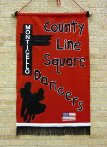 County Line Square Dancers Banner!
