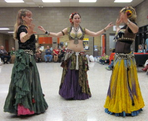 Graduates brought Belly Dancers for entertainment!