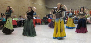 Belly dancers are sponsored byCommunity Education Elk River/St Michael!