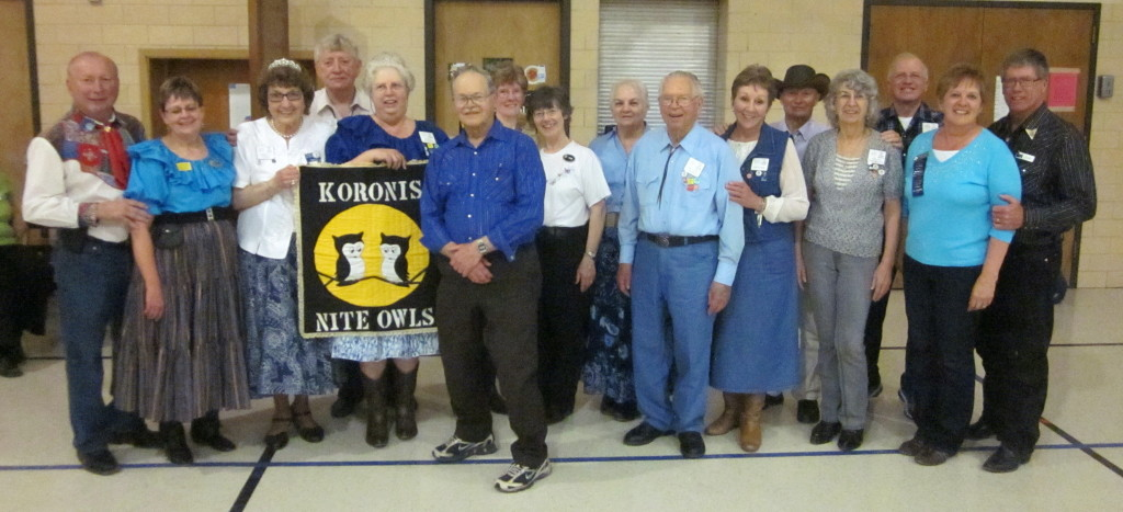 County Line Square Dancers, with Cuer Bernadette McNeil and Caller Roger McNeil!