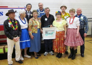 County Line Square Dancers,  with Callers Tac Ozaki and Dick Rueter!