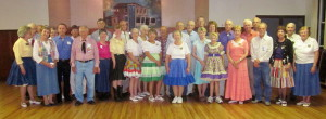 Century Squares, County Line Squares, Silver Treads, and Whitewater Whirlers dancers!