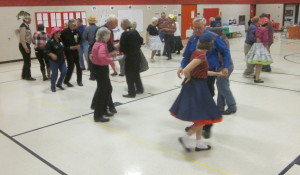 More, square dancing.