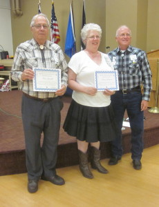 2nd Most-Active Dancers - Don Lundell and Mavis Johnson.