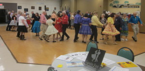Some of the Saturday night dancers,
