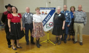 County Line Squares claimed an Ar-Dale Dancers banner.
