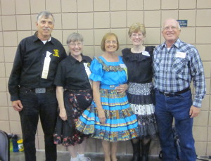 County Line Squares members at the convention.