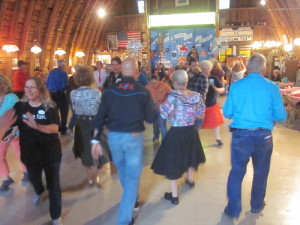 Square dancing at the Hollywood Hayhouse.