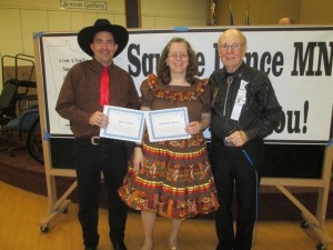 Brad and Michelle Neutz received their 2nd and 3rd New Graduate awards.